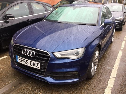 Audi A3 1.4 TFSI 150 S Line 4dr Pre Preparation Images 1