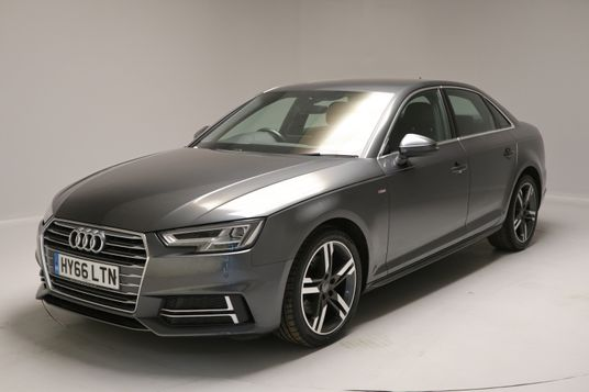Audi A4 2.0 TDI S Line 4dr S Tronic Exterior 1