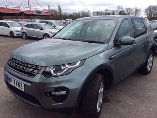 Land Rover Discovery Sport 2.0 TD4 SE Tech 5dr [5 Seat] Pre Preparation Images 1
