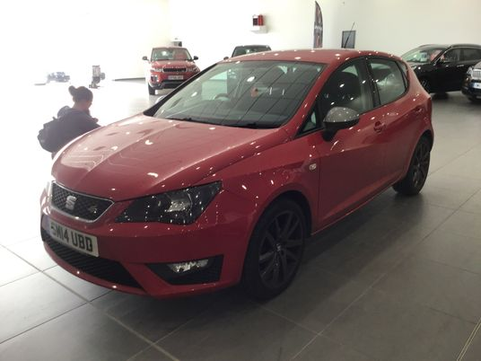 SEAT Ibiza 1.2 TSI FR 5dr Pre Preparation Images 1