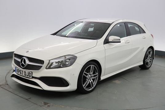 Mercedes-Benz A Class A200d AMG Line Executive 5dr Exterior 1