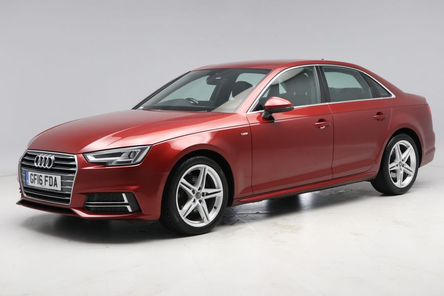 Used Audi A4 2.0 TDI S Line 4dr S Tronic